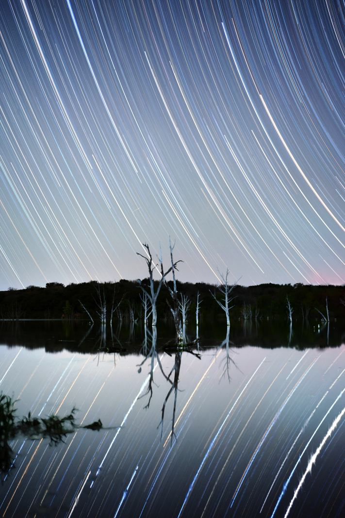 PureNight Filter Review - Inks Lake Star Trail Photography