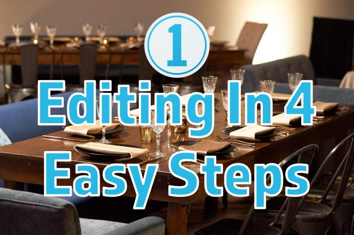 Capture One Editing in 4 Easy Steps