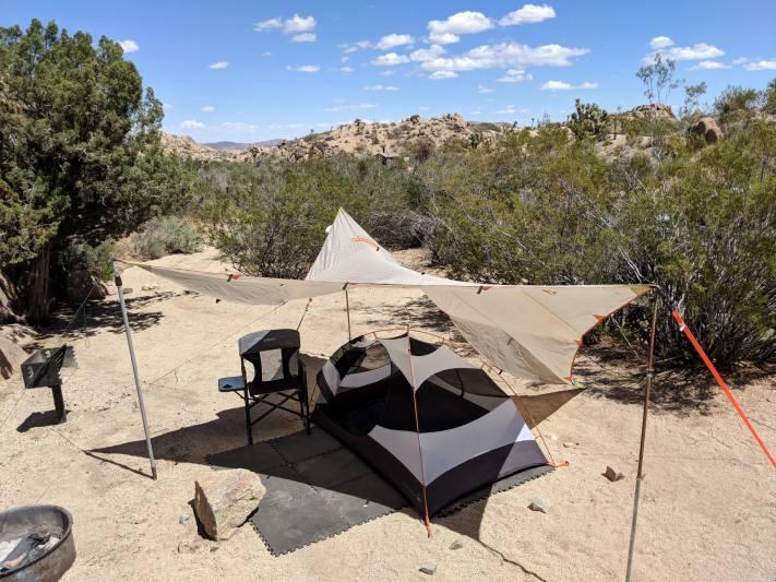 Joshua Tree National Park Jumbo Rocks Camp Site