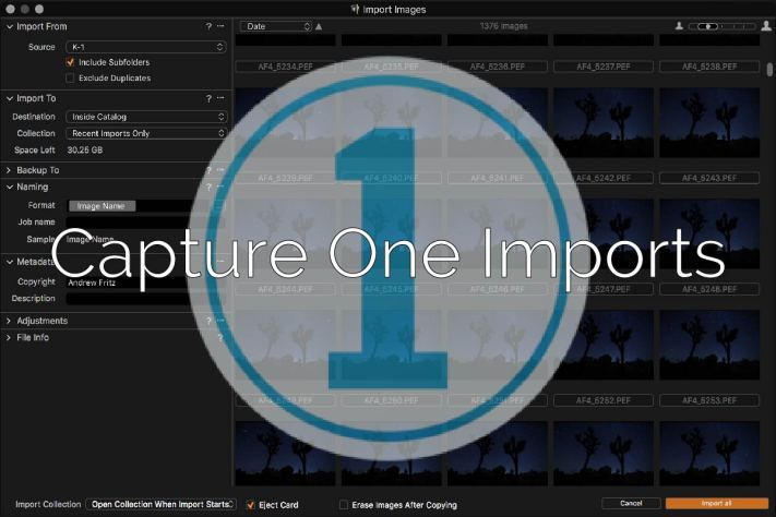 Capture One Imports - 3 Powerful Methods