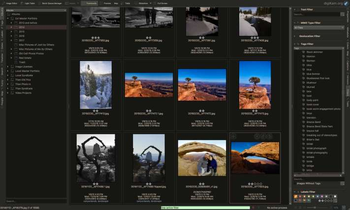 Digikam Master Archive, My Alternative Photo Workflow