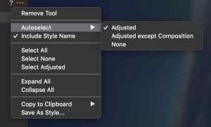 Capture One Adjustments Clipboard Options