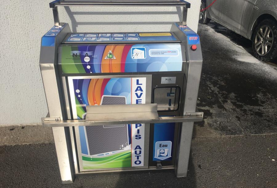 azur lavage auto mions portique haute