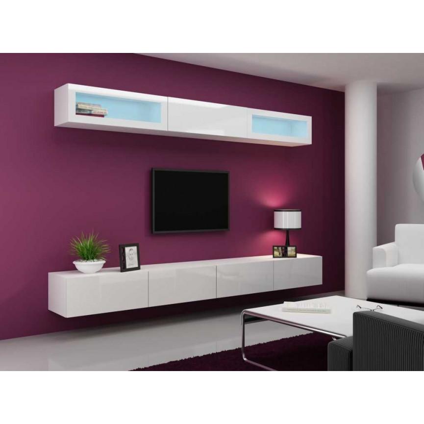 Meuble Tv Vigo Trend 280 Blanc Sjour Meuble Tv