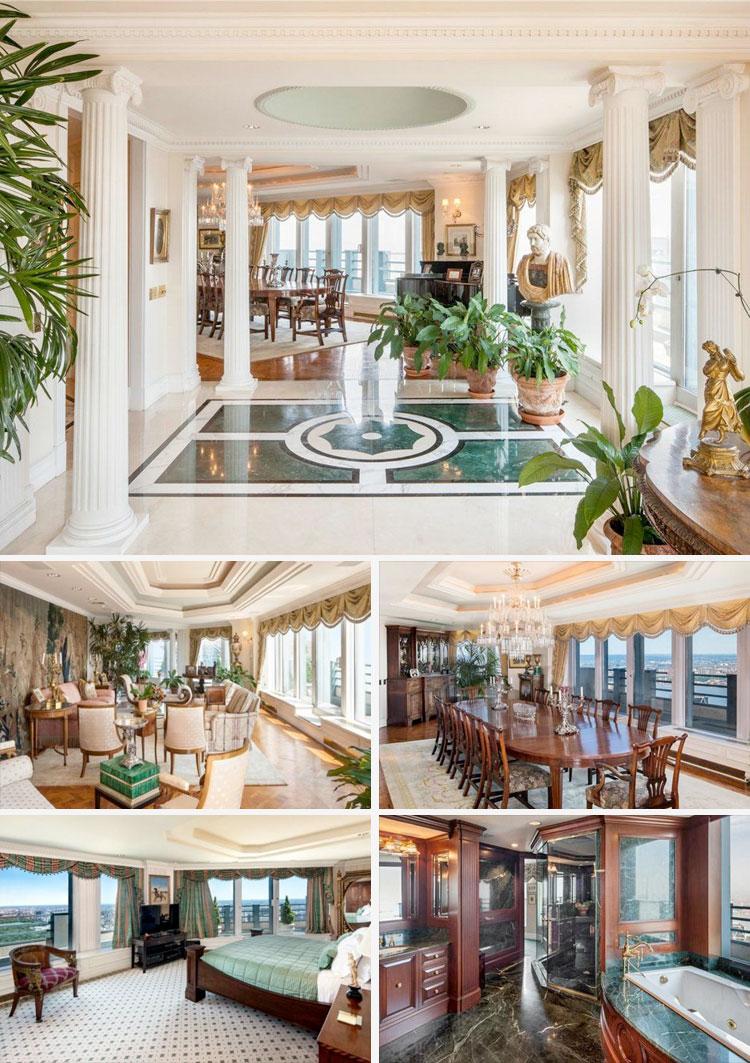Luxury Triplexes Sky Palaces In New York
