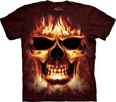 Skulfire medium t-shirt