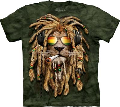 Smokin' Jahman medium t-shirt