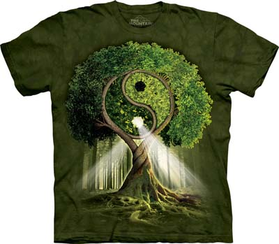 Yin Yang Tree medium t-shirt