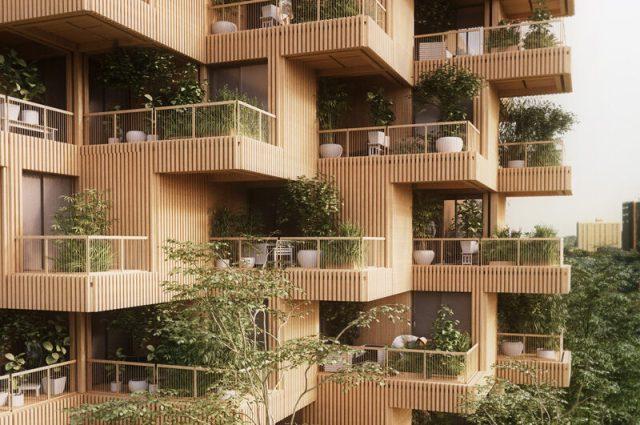 Tree Tower Toronto Concept Revealed by Penda - Azure Magazine | Azure  Magazine