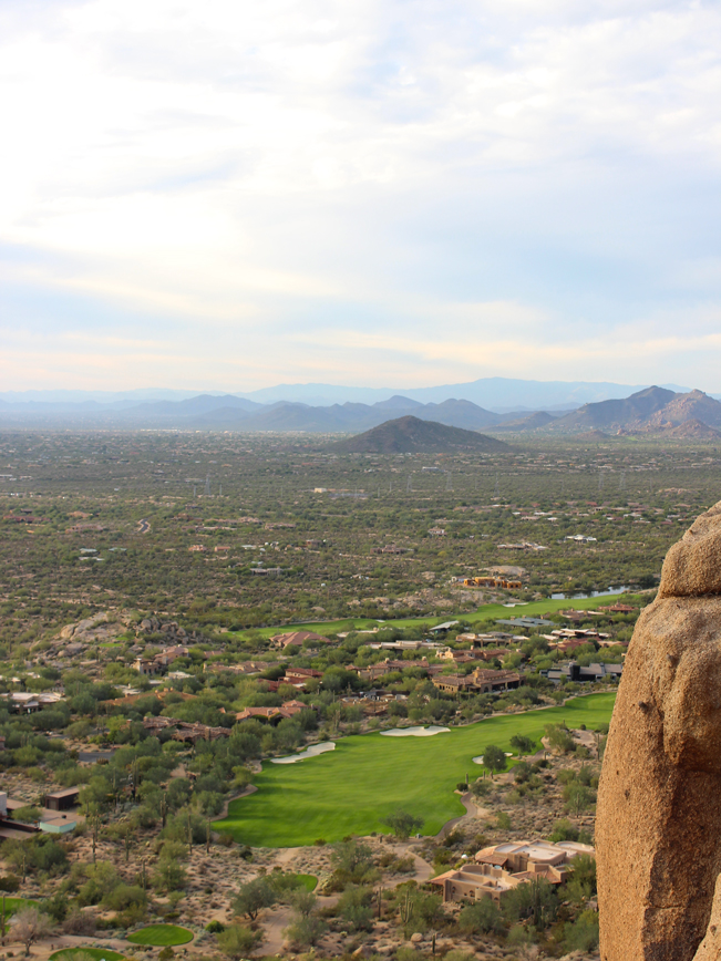 The pinnacle peak park trail is a moderate hike with an elevation gain of approximately 1,300 feet. Posh Hiking On Scottsdale S Pinnacle Peak Hiking Trail
