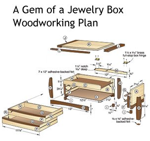 plans for wooden jewelry boxes