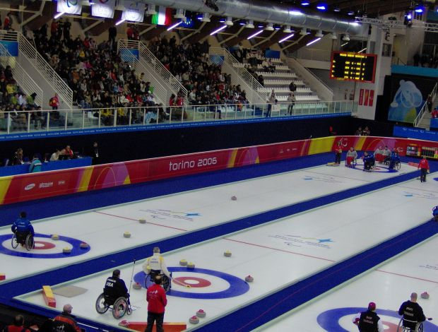 Curling in carrozzina alle Paralimpiadi invernali