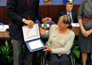 Dorothea Agetle, protagonista alle Paralimpiadi 1992