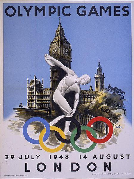 Le Olimpiadi 1948, disputate a Londra