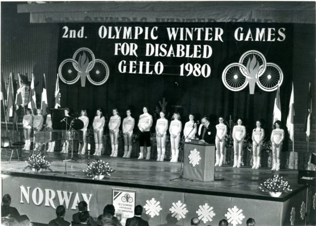 Le Paralimpiadi invernali 1980, disputate a Geilo