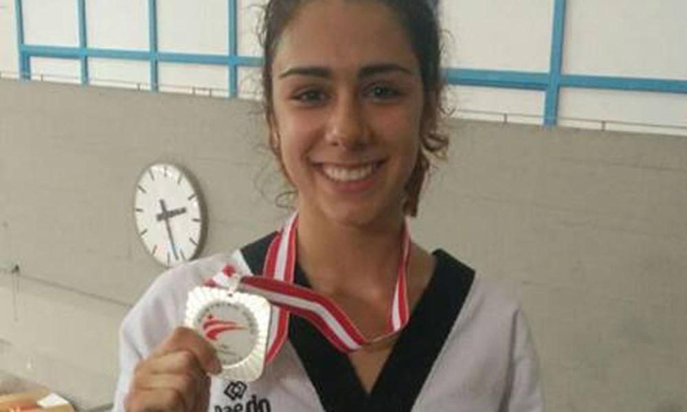 martina corelli argento austrian open 2017 taekwondo classe G1 italia
