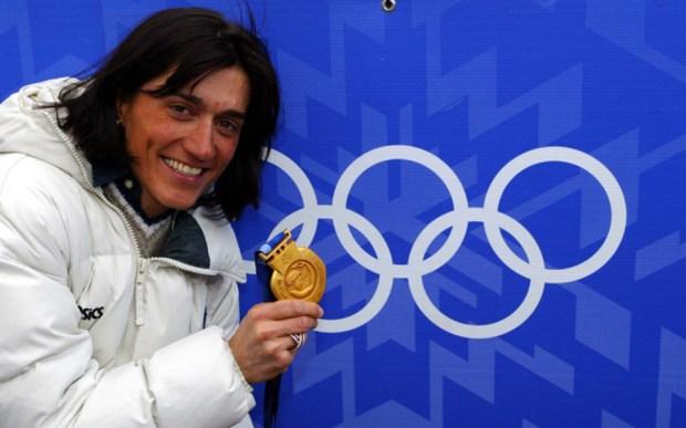 Gabriella Paruzzi medagliata