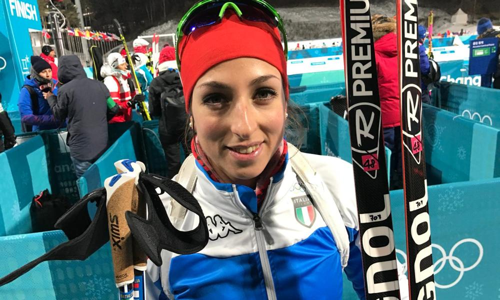 Olimpiadi invernali 2018, Lisa Vittozzi è la miglior italiana nella sprint di biathlon