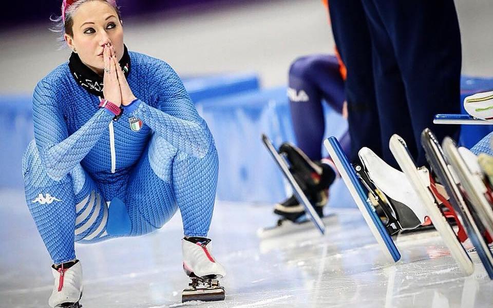 Francesca Lollobrigida Olimpiadi Invernali 2018 Day 16 italia pattinaggio di velocità speed skating