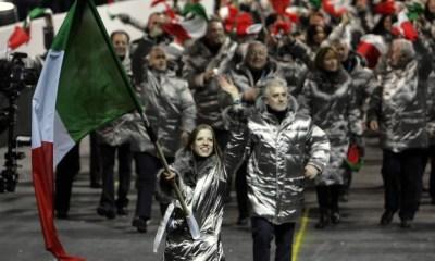 olimpiadi invernali 2018 carolina kostner portabandiera pyeongchang italia torino 2006 olimpiadi invernali