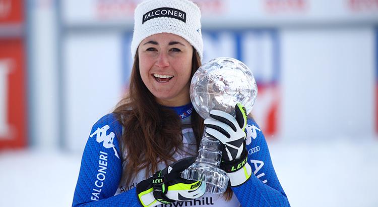 Sofia Goggia vince la Coppa del Mondo di discesa