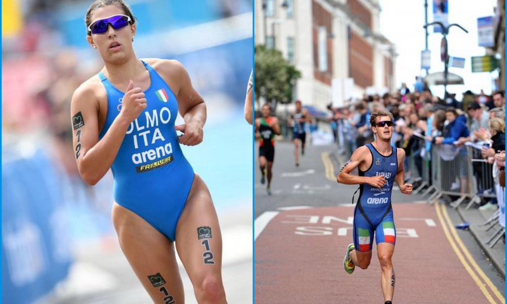 triathlon coppa del mondo 2018 new plymouth angelica olmo gregory barnaby italia corsa run world cup 2018
