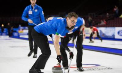 Curling,Italia. Photo Facebook ufficiale Joel Retornaz