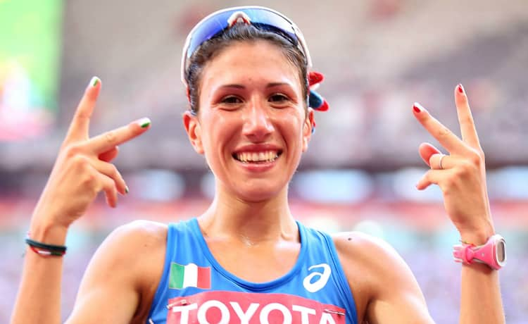 atletica 20 km di marcia antonella palmisano argento IAAF Race Walking Challenge italia rio maior atletica leggera secondo posto