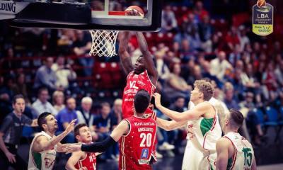 Basket serie A1, 28^ giornata: Pesaro sbanca Milano.