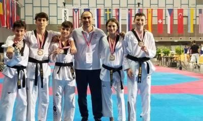 taekwondo austrian open 2018 medaglie junior italia cadetti italy innsbruck