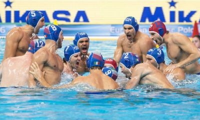 pallanuoto maschile europei 2018 barcellona settebello 7bello italia nazionale italiana waterpolo italy barcelona european waterpolo championship 2018