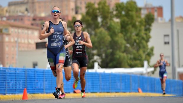 triathlon World Series 2018 Edmonton verena steinhauser italia corsa running italy world triathlon series 2018 canada