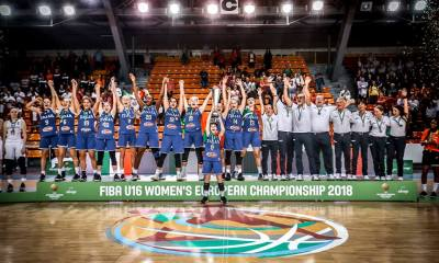 Italbasket, femminile U16 vince l'Europeo