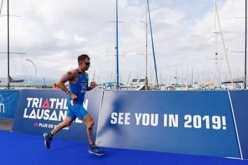 paratriathlon coppa del mondo 2018 losanna gianluca valori italia italy triathlon world cup 2018