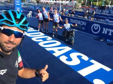 paratriathlon mondiali 2018 gold coast giovanni achenza anna barbaro veronica yoko plebani italia italy triathlon paralimpico australia WTS final 2018 world championship