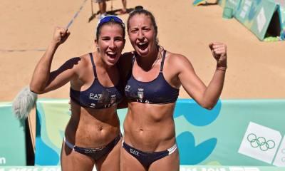 Bertozzi e Scampoli (photo credit: Pagina ufficiale Italia Team)