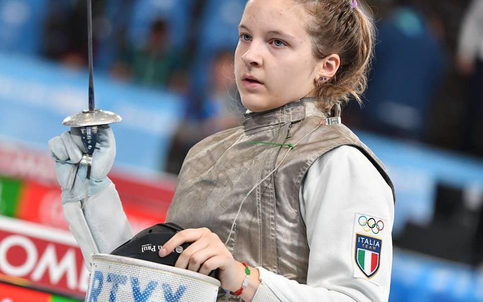 Martina Favaretto, argento ai Giochi Olimpici giovanili