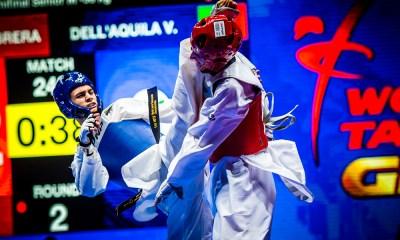 taekwondo grand prix final fujairah 2018 vito dell'aquila bronzo italia italy terzo posto bronze