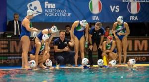 pallanuoto femminile europa cup 2018 gironi italia francia setterosa 7rosa italy waterpolo watersports 7-6
