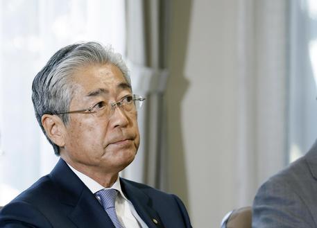 JOC President Tsunekazu Takeda