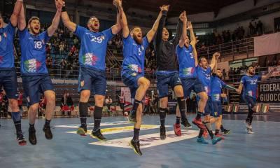 L'Italia festeggia a Faenza