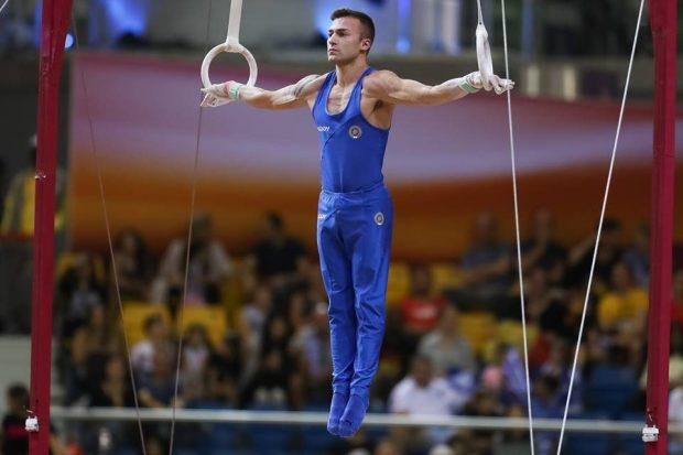 Ginnastica artistica, Europei 2019: Marco Lolladio vince l'argento agli anelli.