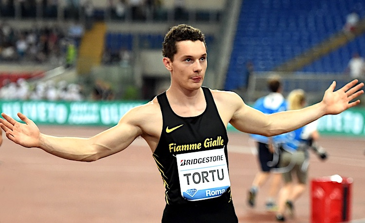 atletica diamond league 2019 oslo filippo tortu italia italy atletica leggera athletics 100m 100 metri run running corsa velocità velocista runner 2019