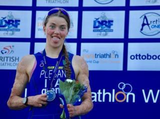 paratriathlon coppa del mondo 2019 besancon veronica yoko plebani argento italia italy world cup world paratriathlon cup 2019 triathlon paralimpico francia