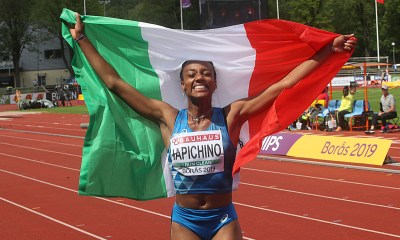 atletica europei u20 2019 larissa iapichino oro salto in lungo italia italy atletica leggera campionati europei under 20 2019 boras svezia gold long jump european championships under 20 athletics