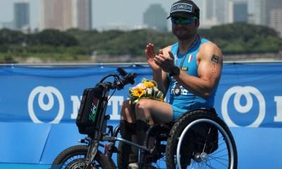 paratriathlon coppa del mondo 2019 tokyo pier alberto buccoliero bronzo italia italy triathlon paralimpico paralympics bronze terzo posto world cup