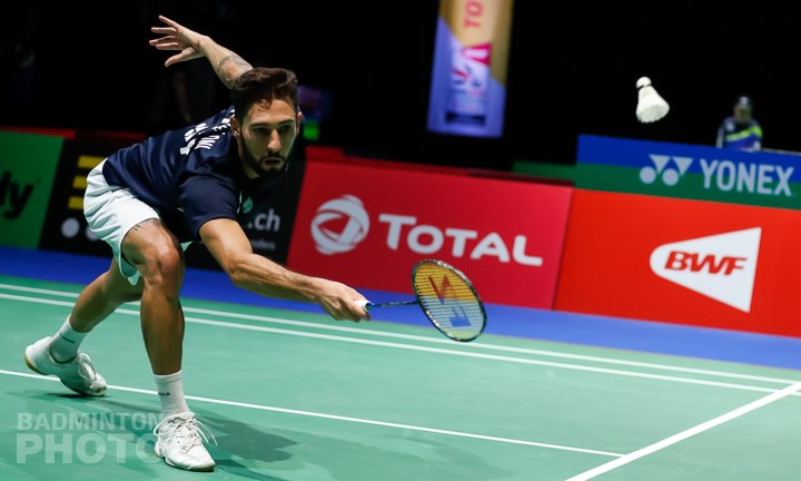 Rosario Maddalone alla sua ultima presenza per i Mondiali 2019 di Badminton