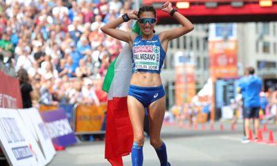 atletica mondiali 2019 doha antonella palmisano marcia 20 km italia italy atletica leggera athletics world championships qatar march 2019