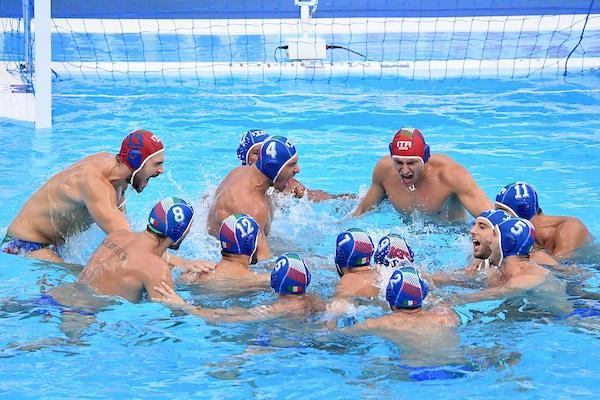 pallanuoto maschile world league 2019 grecia italia italy settebello 7bello waterpolo greece atene