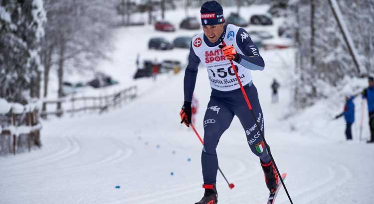 Federico Pellegrino a Davos (SVI) per la Coppa del Mondo 2020 di Sci di Fondo
